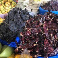 Chilis in the Antigua Mercado