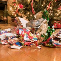 Recycle Christmas Wrapping