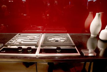 Domino dual gas and single wok burner (Photo courtesy A Kitchen That Works, LLC)