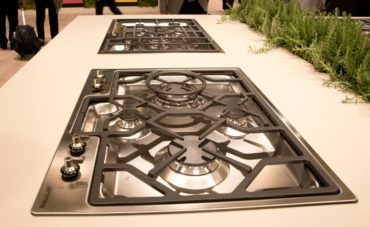 Gas cooktop (Photo courtesy A Kitchen That Works, LLC)