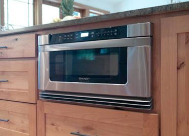 Microwave drawer (Photo courtesy A Kitchen That Works, LLC)