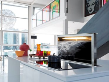 Scirocco downdraft ventilation by Faber