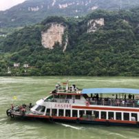 Many types of boats are available to cruise the Yangtze.