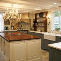 French-Country Elegant Kitchen