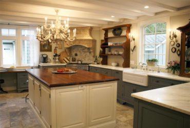 French-Country Elegant Kitchen