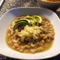 White Bean with Turkey Chili