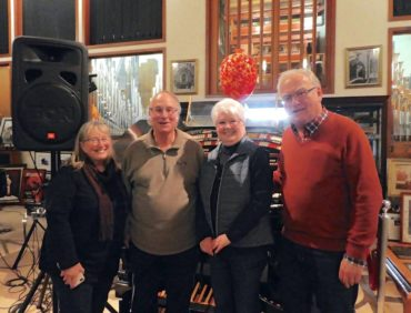 Left to Right: Barbara Hammerman, Raymond Lavine, Patti Simon and Ed Zollman