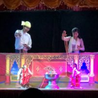 Myanmar puppet theatre, Mandalay