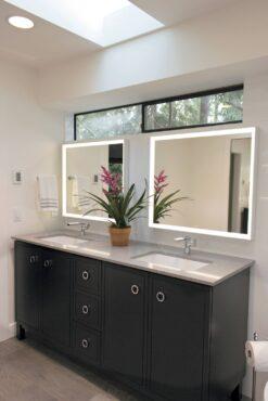Vanities, lighted mirrors, skylights and transom windows