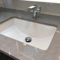 Seamless tile work