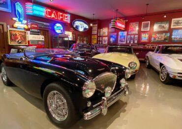 Jim Smalley's garage