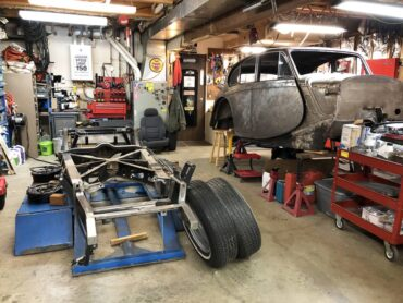 Ron Muhleman's garage