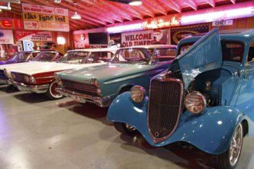 Ron Perkerewicz's garage