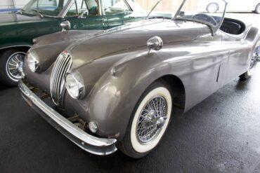 Carol Bailey's 1956 Jaguar 140 MC