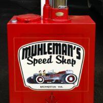 In Muhleman's garage
