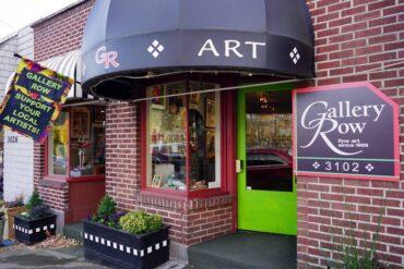 Gallery Row in Gig Harbor