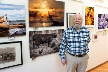 Ebb Tide Art Gallery member Bryan Peterson