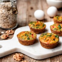 Savory Walnut Egg Cups
