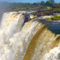 Falls up close from Livingstone Island, Zambia
