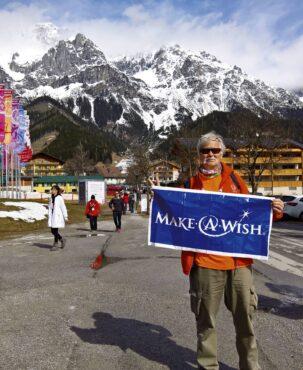 Ken Kieffer in Ramsau, Austria — Special Olympics Winter Games