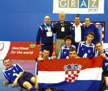 Croatian Special Olympics soccer team