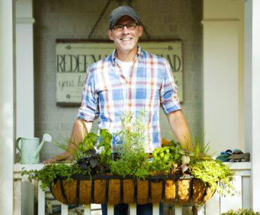 Landscape designer Doug Scott