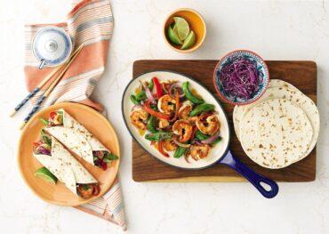 Sizzling Shrimp Fajita Stir-Fry