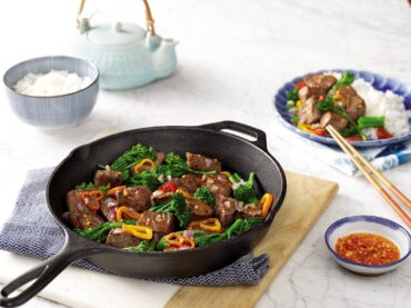 Spicy Steak and Broccoli