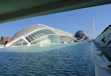 City of Arts and Science Complex in Valencia, Spain
