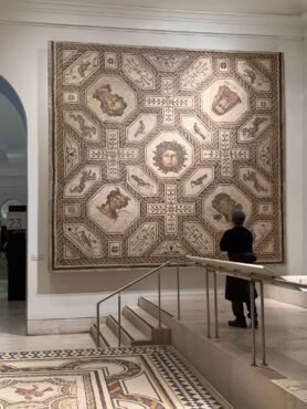 2000-year-old tile mosaic, National Archeological Museum Madrid