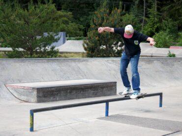 James Lund at South Kitsap Skatepark