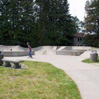 Kingston's Billie Johnson Skate Park