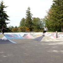 Silverdale's Gateway Skate Park