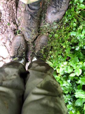 Muddy trek
