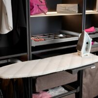 Built-in ironing board by Hafele