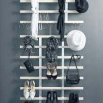 Wall-mounted accessories organizer TAG Hardware