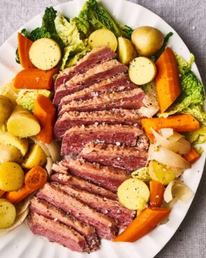 Corned beef might have been on the menu had you dined with 19th President Rutherford B. Hayes or 31st President Herbert Hoover.