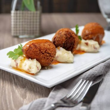 Chicken croquettes were a favorite of sixth President John Quincy Adams and 27th President William Howard Taft.