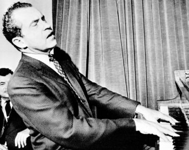 Richard M. Nixon, our 37th president, was an accomplished pianist who wrote a concerto that he performed on a primetime TV show.