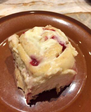 Stelmach's raspberry rolls