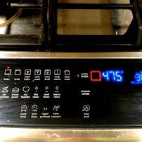 5) Preheat oven.