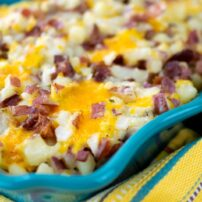 Cheesy Baked Potato Casserole
