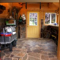 Sherry Kanode's potting shed turned into a work of art.