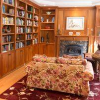 Spacious library