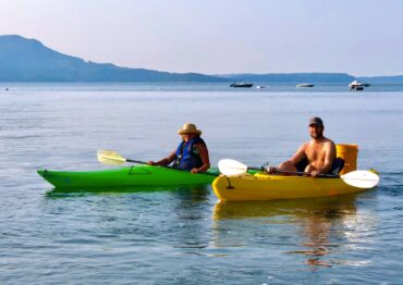 Kayaking on Hood Canal, Seabeck
