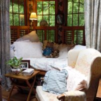 The bay window nook in master