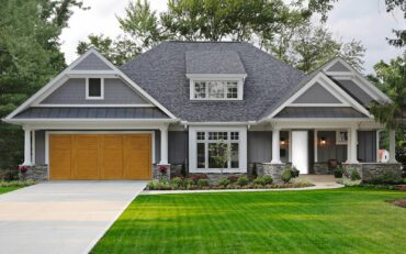 With the Door Imagination System app on Kitsap Garage Door's website, you can upload a photo of your garage and see what various garage doors would look like on your home. (Photo courtesy Kitsap Garage Door)