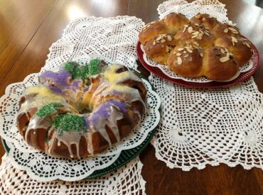 Two special breads from one recipe