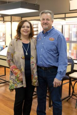 Ray and Diane Donahue, owners