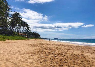 Deserted Keawakapu Beach